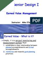 CSE4316 Earned Value