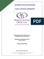 Cartilla de Impacto Salud Ocuapcional USME