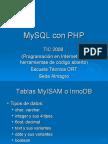 MySQL en PHP