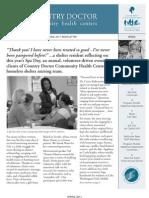 CDCHC Spring Newsletter 2011