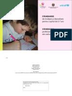 Ghid Standarde Educatie Timpurie Copii Educatori