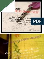 CATEGORIAS GRAMATICALES 10º I.E.P.N.O