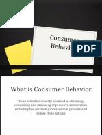 Consumer Behavior (1)