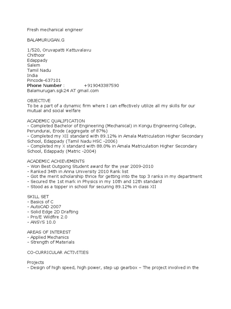 sample resume for diploma mechanical engineering fresh mechanical engineer resume suma human resource management - Certified Fire Protection Engineer Sample Resume