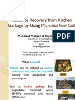 Resource Recovery From Kitchen Garbage by Using Microbial
