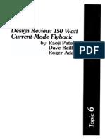 Fly-back Mode 150w