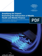 WEF HE Intersection Mobile Health Mobile Finance Report 2011