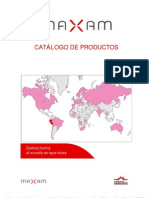 Catalogo de productos Maxam