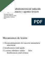 Nefritis tubulointersticial inducida por fármacos y agentes tóxicos
