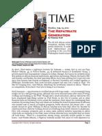 The Repatriate Generation - Time Magazine