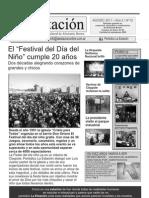 Periodico La Estación Nº 10 de Agosto