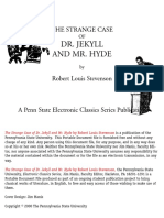 The Strange Case of Dr. Jekyll and Mr. Hyde - Stevenson
