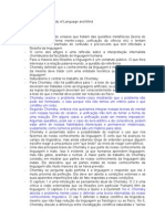 Resumo de New Horizons in the Study of Language and Mind