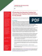 CAE Accelerating Arts Education Cuts June 2011