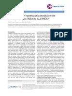 'permissive' hypercapnia
