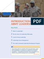 MSL 101 L11 Intro to Army Leadership