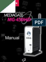 User Manual MG-450