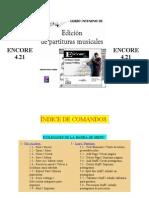 Manual ENCORE 4
