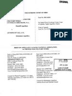 US Bank v Duvall Appellants Brief 24 Jun 2011