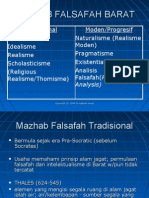 Edu 3004 - Mazhab Falsafah Barat