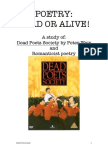 Poetry Dead or Alive Booklet