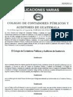 Codigo-De-etica Colegio Cont Adores Publicos y Auditores Guatemala