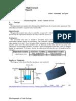 Lab Report Ice - Lf