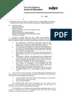 Do No. 77, s. 2009 Pta Guidelines