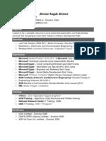Software Development_Ahmed Ragab CV