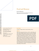 Holtzman - Food and Memory