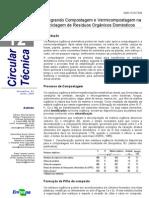 Reciclagem de Resíduos Orgânicos Domésticos - Embrapa