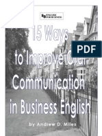 15 Ways to Improve Oral Communication in Business English for Students