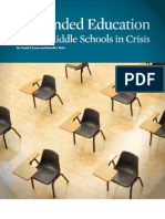 Suspended Education Urban Middle Schools in Crisis By Daniel J. Losen and Russell J. Skiba