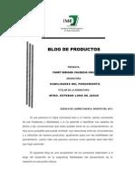Introduccion Al Blog de Productos