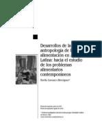 Carrasco - Desarrollos de la Antropologia de la alimentación en América Latina
