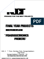 2011 - 2012 IEEE Projects List - Power Electronics Projects