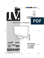 Manual TV Semp