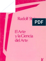 Steiner Rudolf El Arte y La Ciencia Del Arte