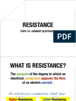 19 Resistance