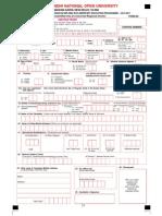 Del Ed Admission Form