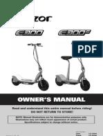 Razor E3XX Manual US v1.01.10
