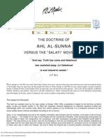 Ahle-sunnah vs Wahaabis/Self Proclaimed Salafis