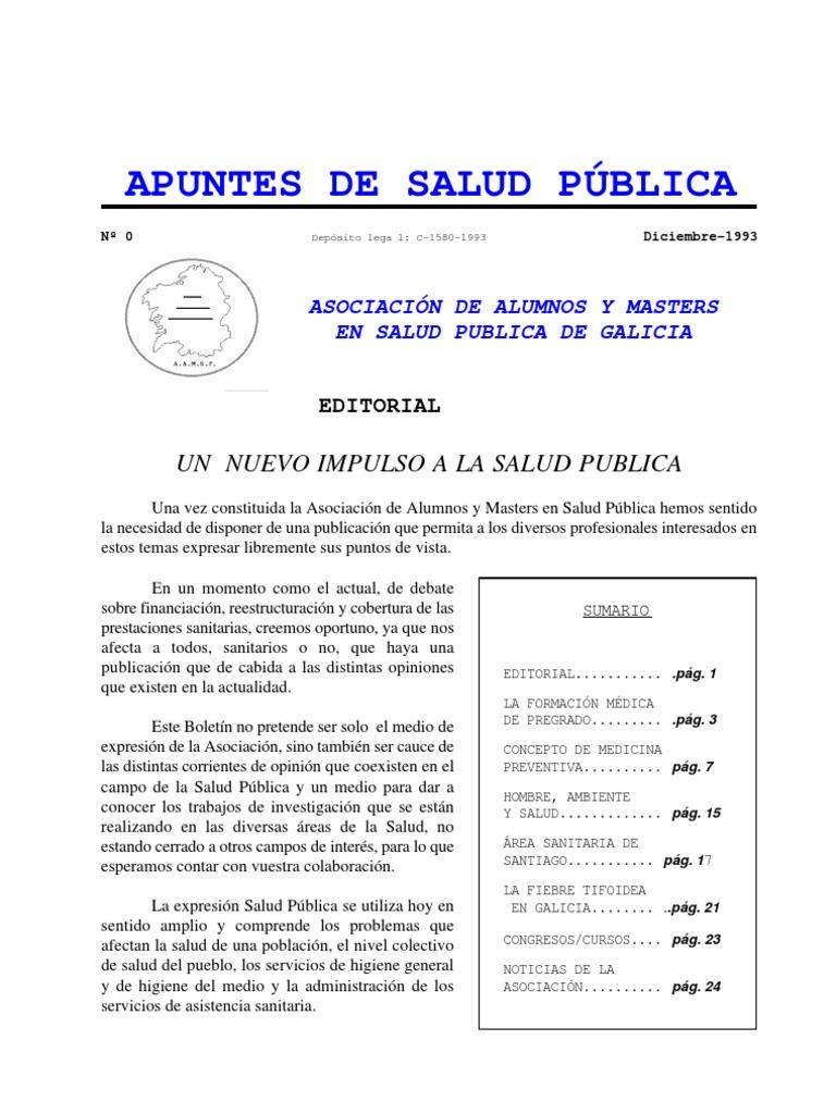 Apuntes de Salud Publica