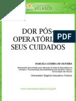DOR PÓS-OPERATÓRIA E SEUS CUIDADOS