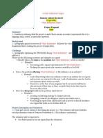 BwB Project Description TEMPLATE -- Sep 2010