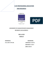 Diversity Management HRM