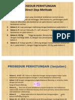 PROSEDUR Direct Step Methode