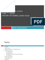 Session 1 - Mobile History, Trends