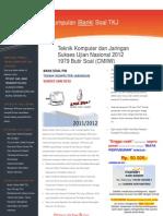 Bank Soal dan Try Out UAN UNAS Produktif TKJ 2012