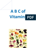 ABC of Vitamins